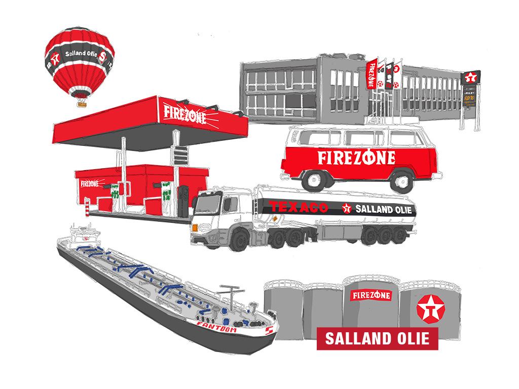 Illustratie voor Salland Olie